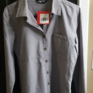 Women's North Face Button Down Shirt